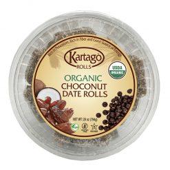 Organic Choconut Date Rolls