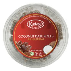 Coconut date roll