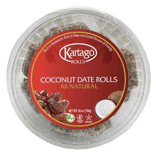 Natural Coconut Date Rolls